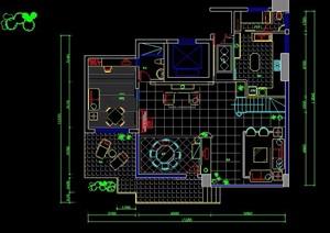 某休闲别墅室内装修设计图