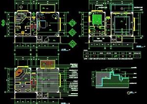 欧式别墅家装室内设计施工图