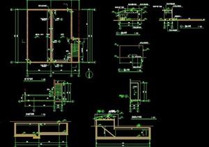 泵房建筑节点图纸
