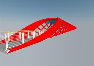 阳光观光走廊 SketchUp 模型