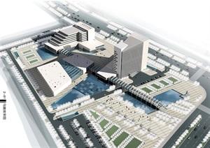 某工业园规划建筑设计方案全套文本(含CAD,效果图,PPT、SU(草图大师)模型等全套资料)