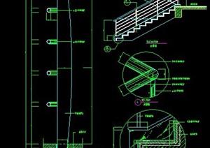 剪刀楼梯设计图纸