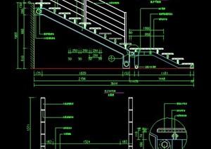 踏步式楼梯设计图