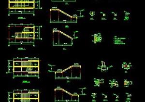 钢结构楼梯设计图
