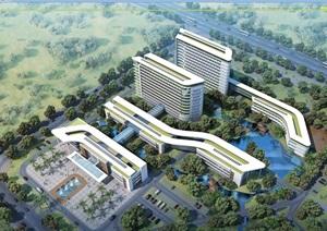 某详细完整的人民医院设计jpg方案及效果图