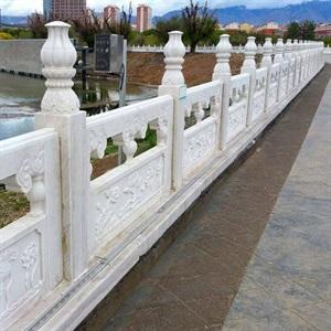 200-300元一米的河道欄桿 河道石欄桿廠家批發 橋面石欄桿價格旭源石雕生產廠家