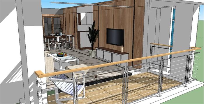 洋房模型(3)