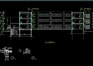 三层详细的完整幼儿园建筑全套cad施工图