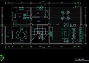 四层别墅室内住宅装修设计图纸