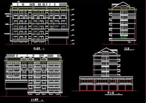 六层商住楼建筑施工图纸
