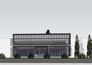 现代经典简约风住宅售楼处示范区小区商业会所活动中心