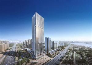 现代城市综合体商务办公住宅商业综合体城市中心区设计