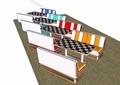詳細的完整桌椅素材設計su模型