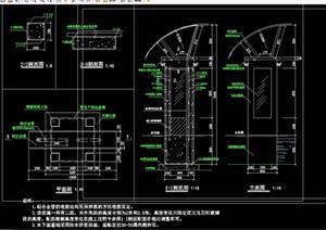 现代景观灯柱完整详细设计cad施工图