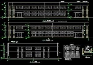 二层车间工业建筑施工图