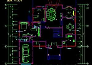 二層別墅建筑設計圖紙