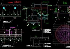 石板橋詳細設計cad施工圖
