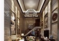 某详细的别墅客厅装饰设计3d模型及效果图