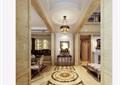 歐式風格詳細的客廳3d模型及效果圖