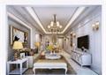 詳細的歐式風格整體客廳空間裝飾設計3d模型及效果圖