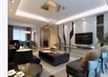 詳細的整體完整客廳素材3d模型及效果圖