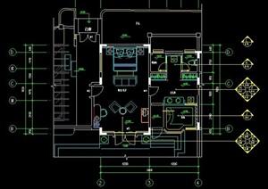 欧陆风格别墅家装设计图纸