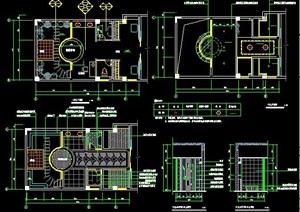 会议室、办公室、卧室室内设计方案