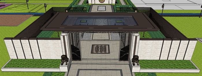 景观门楼(2)
