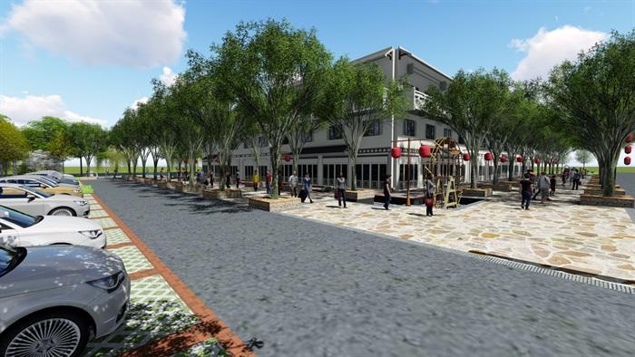 美麗鄉村商業街方案(1)