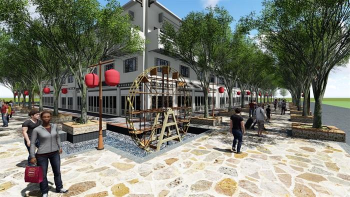美麗鄉村商業街方案(2)