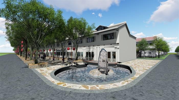 美麗鄉村商業街方案(3)