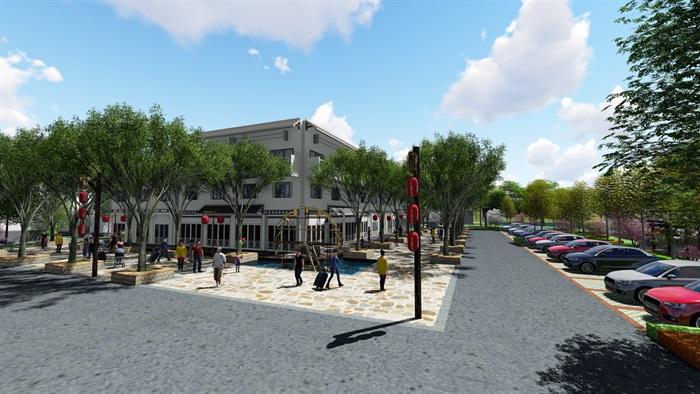 美麗鄉村商業街方案(4)