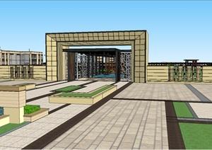 精细住宅模型全套SU(草图大师)精细模型