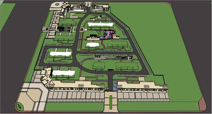 精细住宅模型(3)
