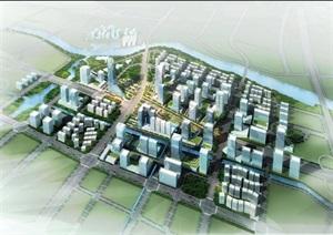 某金融广场城市设计方案