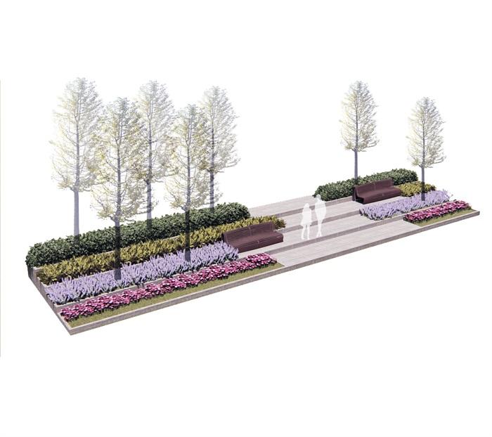校园台阶景观(3)