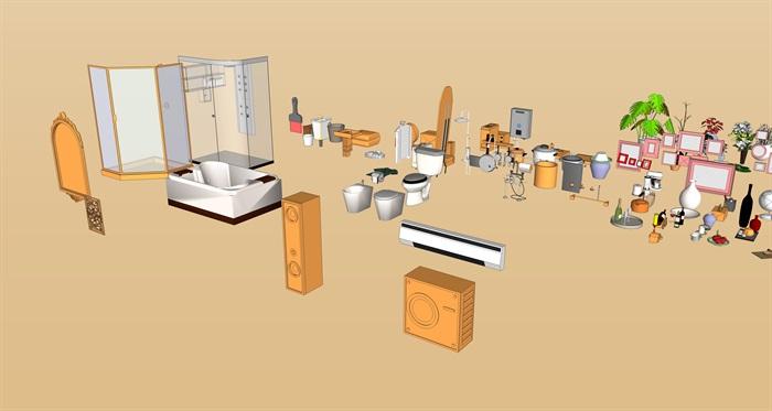 家具家電擺件集(2)