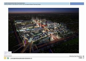 上海某家具村总体概念规划