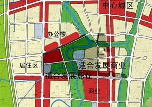 台州市某商业街详规方案
