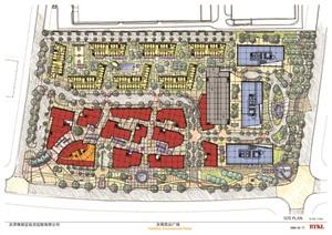 天津某商业广场设计方案