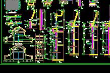 小區配套服務用房詳細建筑施工圖設計(3)