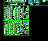 多個高層住宅詳細建筑施工圖設計cad圖(4)