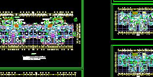 多個高層住宅詳細建筑施工圖設計cad圖(7)