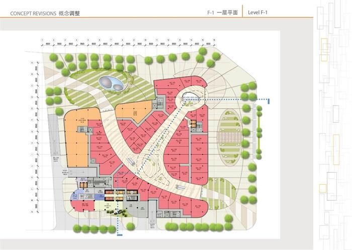 天津某陽光新業中心建筑概念設計(5)