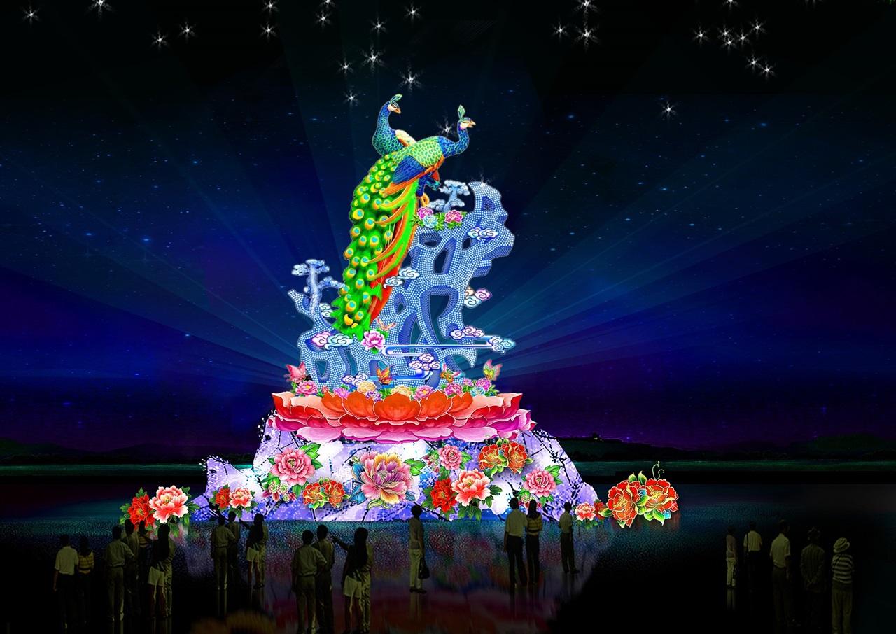 豫涛彩灯公司在传承和保留传统设计艺术的同时,注意从创意上、工艺上、材质上、对彩灯、彩车、花船进行深入研究,不断的改进增强了花灯、花车、彩船的艺术表现力,提高了产品的艺术品味。同时根据客户相关节庆活动的主要内容,民俗风情,因地制宜地进行现场彩灯、花车、彩船的设计、制作、展出、维护一条龙服务,充分展出中华传统文化精妙绝伦的艺术魅力。 2019年彩灯,2019年花灯,2019年灯会,国庆灯会,中秋灯会,国庆彩灯,中秋彩灯,国庆花灯,中秋花灯 2019年彩灯 2019年花灯 2019年灯会 猪年灯会 猪年彩灯 猪