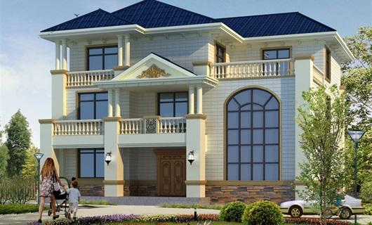 湖南地区三层自建别墅