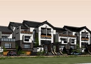 现代主义风格,3层别墅建筑