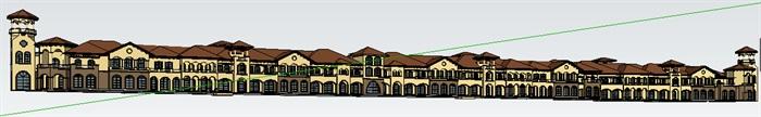 295-商业建筑群,托斯卡纳风格,3层(2)
