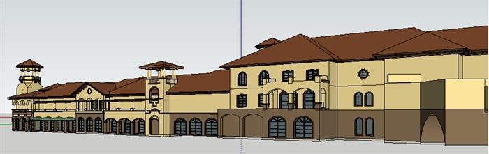 295-商业建筑群,托斯卡纳风格,3层(4)