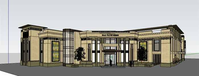 303-会所,现代主义风格,2层(1)